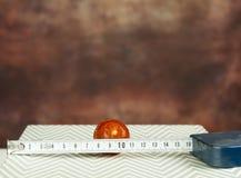 Matematik i köket Arkivfoto