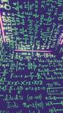 Matematik i vägen royaltyfri foto