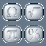 Matematiksymboler Arkivfoto