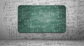 Matematisk formel Arkivfoton