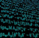 matematisk komplicerad formel Royaltyfri Foto