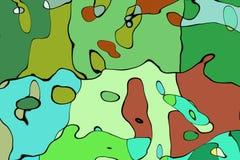 Matematisk modell för prydnaddiagram Arkivfoto