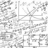 Matematycznie pojęcie Obrazy Royalty Free