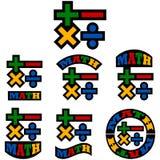 Matematyk ikony Zdjęcie Royalty Free
