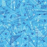 Matematyka bezszwowy wzór Obraz Royalty Free