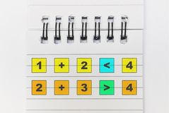 Matematyka dla dzieciak?w obrazy stock