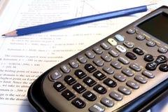 matematyka prac domowych Zdjęcia Stock
