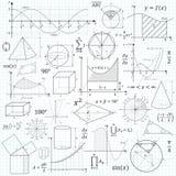 Matematyka wektoru formuła Obraz Royalty Free
