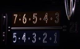 matematyki Fotografia Royalty Free