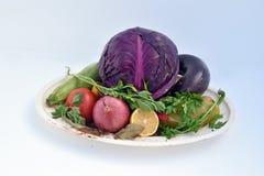 Maten för strikt vegetarian fotografering för bildbyråer