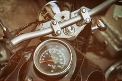 Maten van oude klassieke motorfiets Stock Fotografie