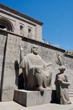 Matenadaran, Oud Manuscriptenmuseum, Yerevan, Armenië Stock Afbeeldingen