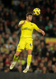 Mateo Musacchio of Villarreal CF Royalty Free Stock Photos