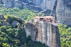 Mateora修道院在希腊 免版税图库摄影
