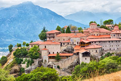 Mateora修道院在希腊 图库摄影