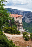 Mateora monasteries in Greece Stock Photography