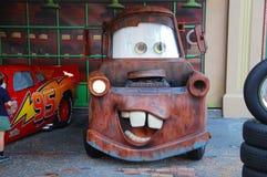 Mater von den Autos Stockfotografie