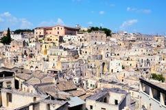 Matera Италия стоковая фотография rf