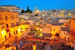 Matera Италия стоковое фото rf