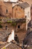 Matera, европейская столица культуры 2019 Базиликата, Италия стоковые изображения rf