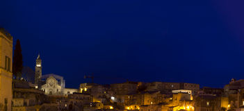 Matera 2019 basilic by night Stock Photo