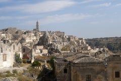 Matera (Basilicata, Italia) - la ciudad vieja (Sassi) Fotos de archivo