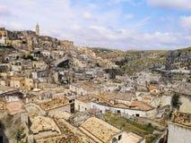 Matera, Basilicata, Italie photographie stock libre de droits