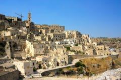 Matera, Basilicata, Italien Stockbilder