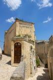 Matera in Basilicata, Italy Royalty Free Stock Photography