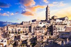 Matera - Basilicata, Italy Stock Images