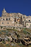 Matera, Basilicata, Italy. The old city Sassi, traditional architecture. Royalty Free Stock Photography