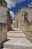 Matera, Basilicata, Italy. The old city Sassi, traditional architecture. Stock Photography