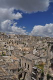 Matera, Basilicata, Italy. The old city Sassi, traditional architecture. Stock Image