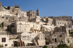 Matera (Basilicata, Italy) - The Old Town (Sassi) Royalty Free Stock Photo
