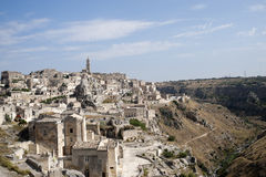 Matera (Basilicata, Italy) - The Old Town (Sassi) Royalty Free Stock Photography