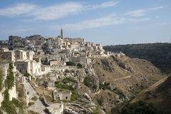 Matera (Basilicata, Italy) - The Old Town (Sassi) Stock Photos