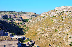 Matera, basilicata, italy Royalty Free Stock Photo