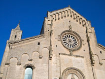 Matera Cathedral. Basilicata. Royalty Free Stock Photo