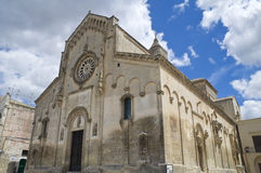 Matera Cathedral. Basilicata. Royalty Free Stock Image