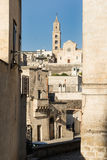 Matera Cathedral, southern Italy Stock Image