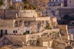 Matera, cidade da cultura 2019 foto de stock