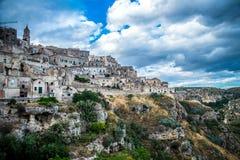 Matera, city of stones Stock Photos
