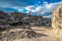 Matera, city of stones Royalty Free Stock Photo
