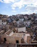 Matera Cityscape Royalty Free Stock Photography