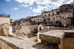 Matera Cityscape Stock Image