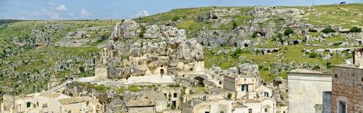 Matera et Belvedere di Murgia Timone images stock