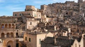 Matera, Europees kapitaal van cultuur 2019 Basilicata, Itali? stock footage