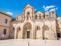 Matera europeisk huvudstad av kultur 2019 royaltyfri bild