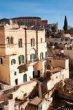 Matera europeisk huvudstad av kultur 2019 Basilicata Italien arkivbild