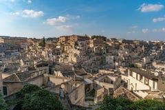 Matera europeisk huvudstad av kultur 2019, Italien fotografering för bildbyråer